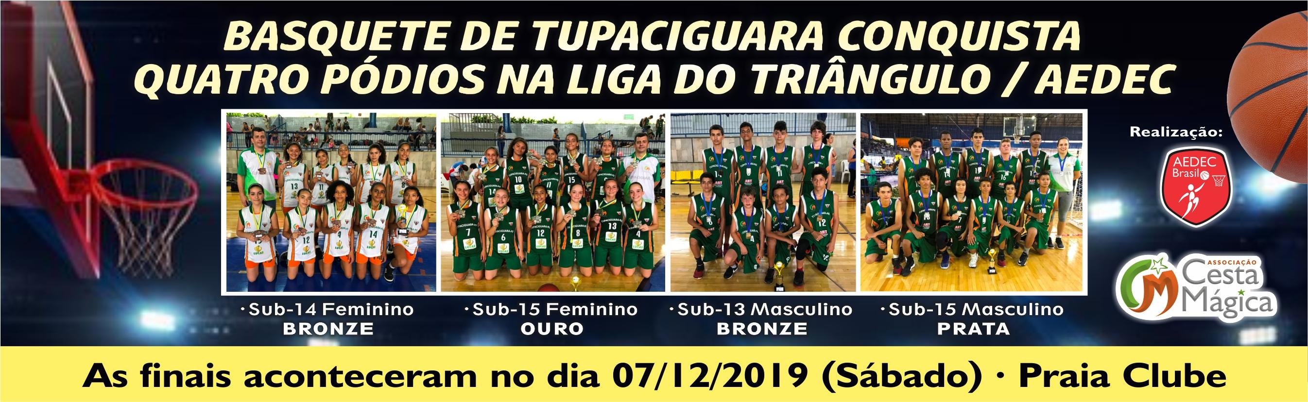 FINAIS DA LIGA DE BASQUETE DO TRIÂNGULO